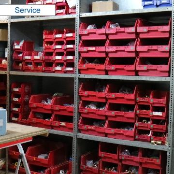 Ersatzteile- und Material-Verkauf